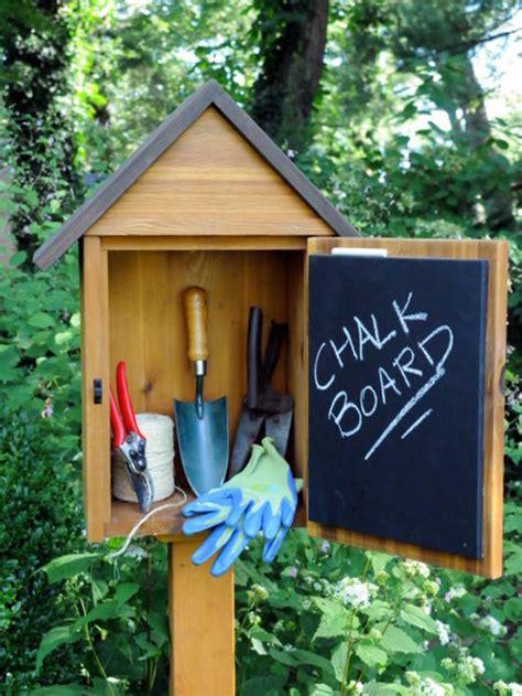 garden tool storage diy ideas guide patterns