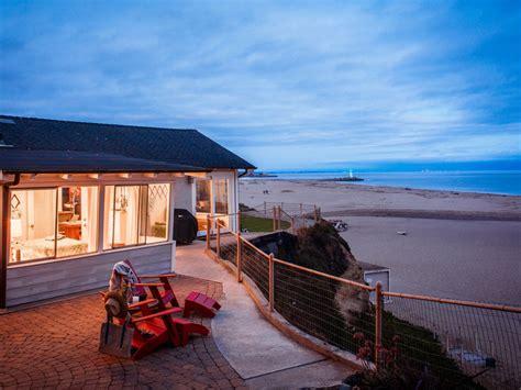 santa house rentals near beachfront seabright bungalow directly on vrbo