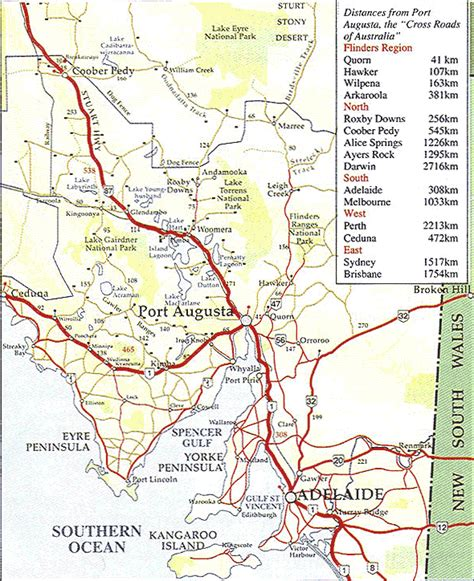 section maps south australia port augusta city council maps