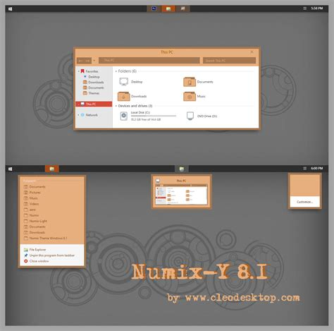 numix theme for windows 8 1 numix y theme for windows 8 1 windows10 themes i cleodesktop