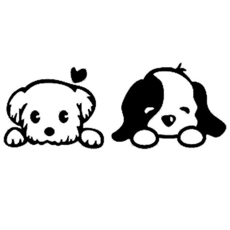 puppy wall stickers puppy vinyl decal wall cutting files