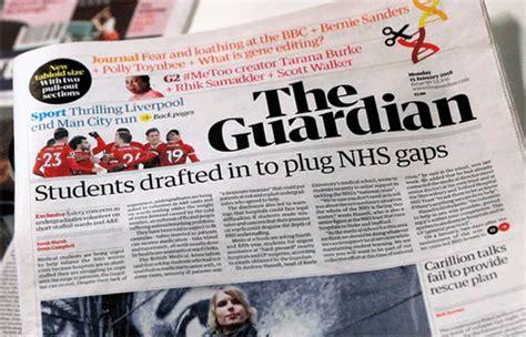 guardian design editor the guardian newspaper reveals new logo design logo designer
