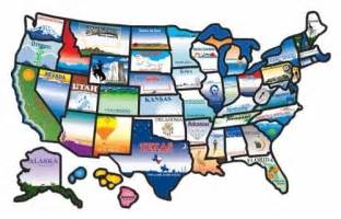 cci permanent state usa map sticker us rv cer trailer