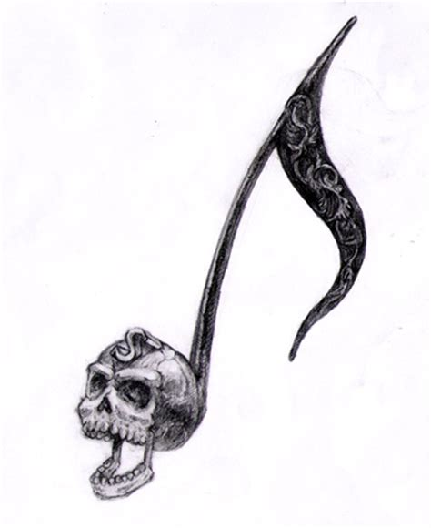 skull music note tattoo designs 1000 images about skullcandy and more on
