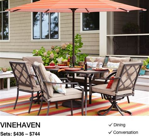 shop outdoor patio furniture collections  lowes