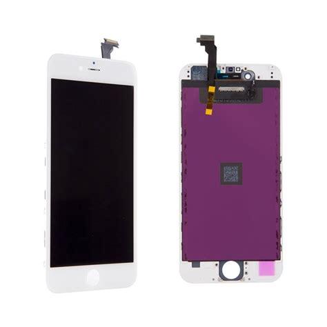 vitre tactile ecran lcd retina iphone 6 ou 6 plus noir ou blanc outils icasse pi 232 ces