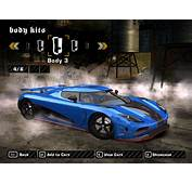 Koenigsegg Agera R II Photos  Need For Speed Most Wanted