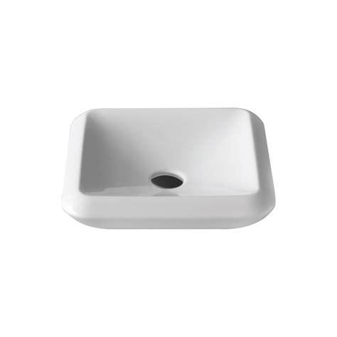 Square Ceramic Kitchen Sink More Square Ceramic 16 Quot Vessel Sink Zuri Furniture