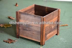 sale large wooden planter pots view large wooden