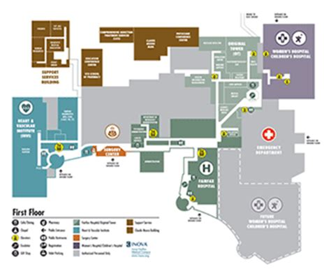 Inova Detox Center by Directions And Parking Inova Fairfax Hospital And Inova