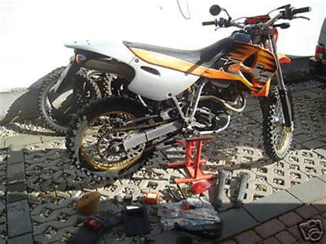 Motorrad Gabel Ventil by Ktm 540sxc 99 Kolben Ventile Gabelsimmeringe Neu Auch
