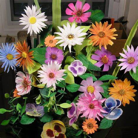 Learn To Make Paper Flowers - learn how to make paper flowers allfreepapercrafts