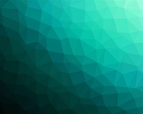 Glass Light Free Picture Geometric Shape Green Abstract Futuristic