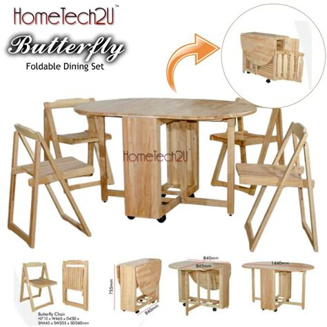 foldable dining table set foldable dining table and 4 folding c end 6 3 2019 8 15 pm