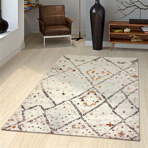 teppiche sale teppich modern loribaft nomaden gabbeh gestreift in creme