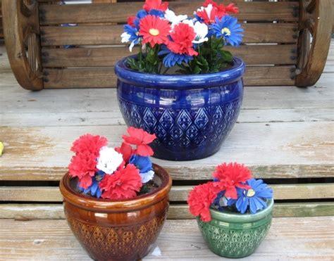 Ceramic Flower Planters by 3 Large Flower Pots Planters Ceramic Planters Pots