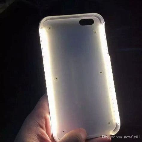 light up mobile phone case led selfie phone case light up your cell phone case for