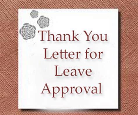 letter  leave approval sample hr letter formats