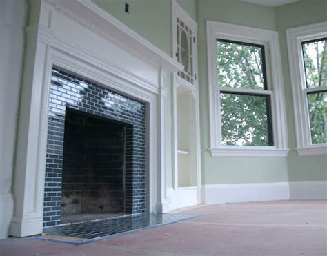 Fireplace Tiles Uk by I Married A Tree Hugger Built In Fireplace Inspiration