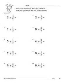 division of fractions worksheet davezan