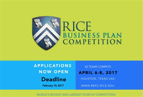 Rice Mba Class Of 2016 by Rice Business Plan Graduate Level Student