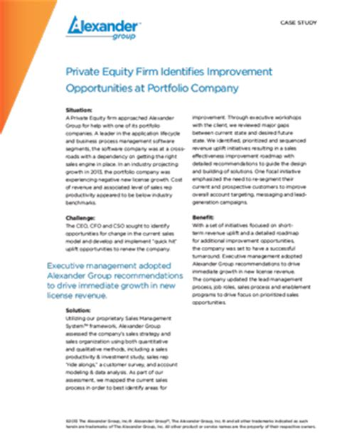 Private Equity Business Plan Template