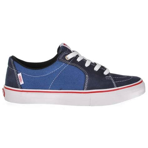 Vans Sk8 Navy vans vans av sk8 low navy stv navy skate shoes vans from skate store uk