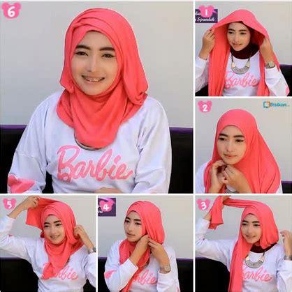 tutorial berhijab untuk wajah lebar tutorial hijab moden untuk wajah bulat