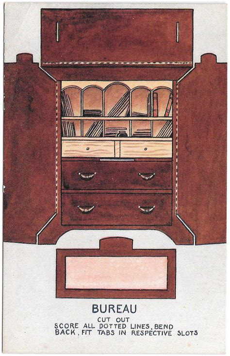printable paper furniture 17 best images about miniatures tiny interiors on