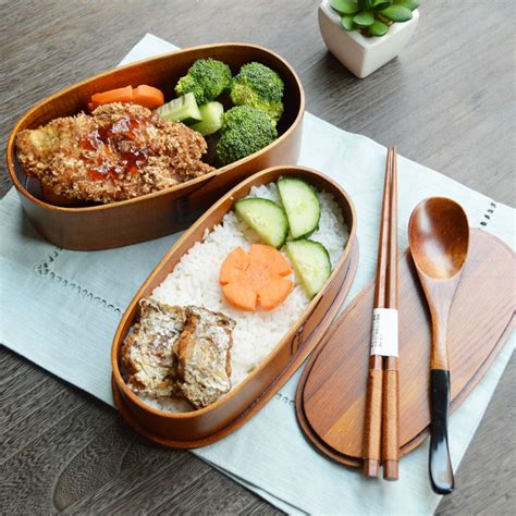 Japanese Wooden Bento Box Decker compare prices on wood bento box shopping buy low