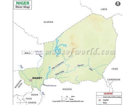 niger river map buy niger river map