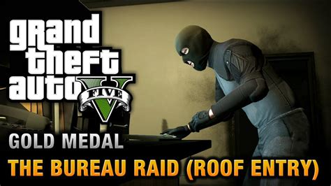gta 5 bureau gta 5 mission 68 the bureau raid roof entry 100
