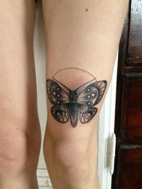 cute small thigh tattoos small moth for design tattooimages biz