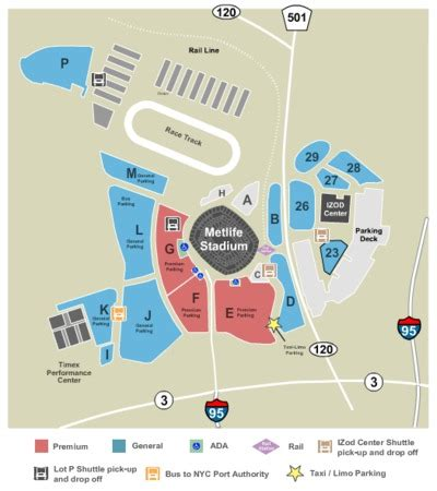 metlife stadium parking map panthers picture of the in diagram panther outline