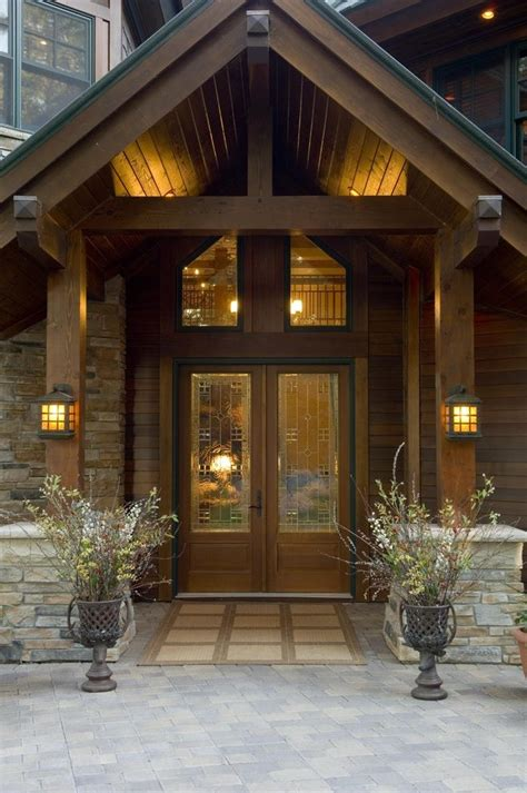 Exterior front entrance design ideas entry rustic with front door interior design stone house