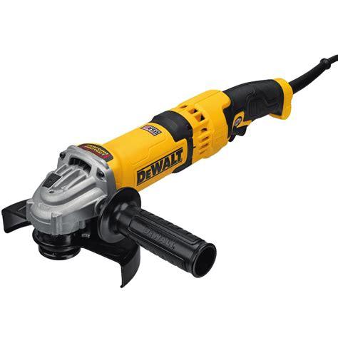 dewalt 13 corded 4 1 2 in angle grinder dwe43116