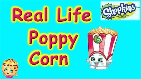 shopkins diy poppy corn shopkin season 4 cookie
