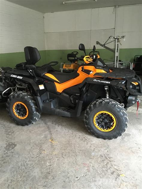 used can am outlander 1000 for sale used can am outlander max 1000 xt p obs 13tim terr 228 ngreg