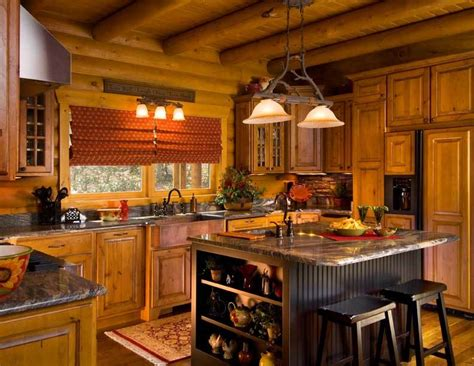 Design Your Own Kitchen Layout Free Cook Up A Classic Kitchen In Your Log Home The Log Home