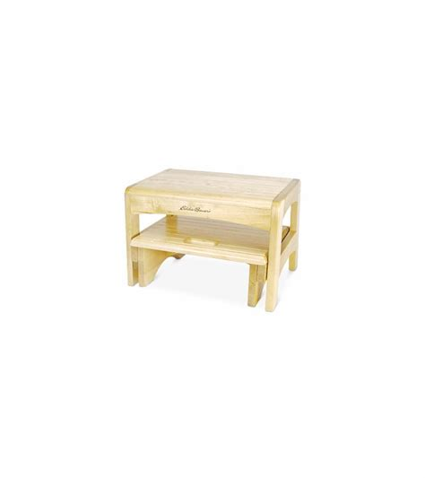 2 Step Wooden Step Stool by Eddie Bauer Wooden 2 Step Stool