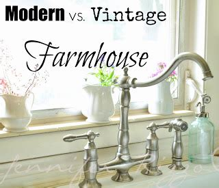 difference  modern  vintage farmhouse