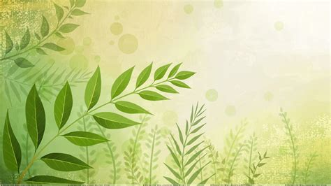 photoshop template nature green leaves n bubbles artistic background wallpaper
