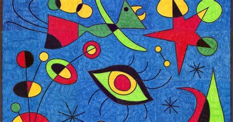 budding artists joan miro