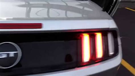2014 mustang gt tail lights 2015 mustang gt euro taillights youtube