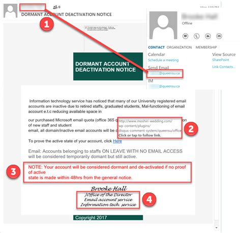 Phishing Sles Its Phishing Awareness Email Template