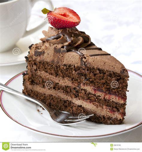 kuchen mit kaffee schokoladen kuchen mit kaffee stockfoto bild braun