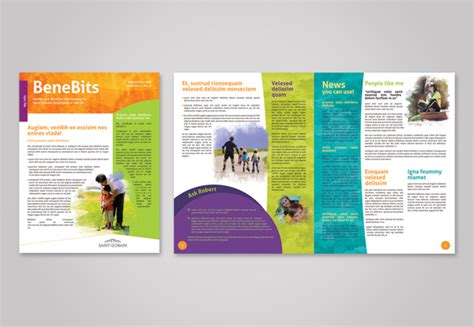 Corporate Wellness Program Template Employee Wellness Program Collateral Rebrand On Aiga