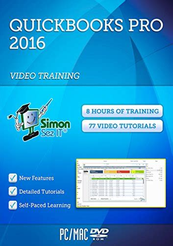 quickbooks tutorial dvd learn quickbooks pro 2016 training video tutorials manage