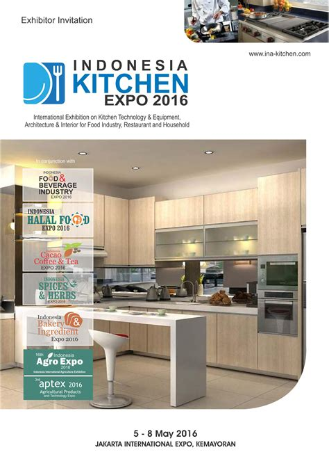 Kitchen Expo by Indonesia Kitchen Expo 2016 Trade Promotion
