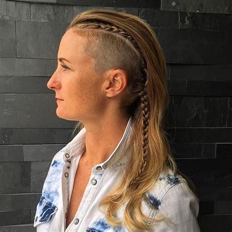 under cut long hair mohawk 45 smartest undercut hairstyle ideas for women to rock